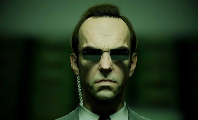 Hugo Weaving The Matrix 4