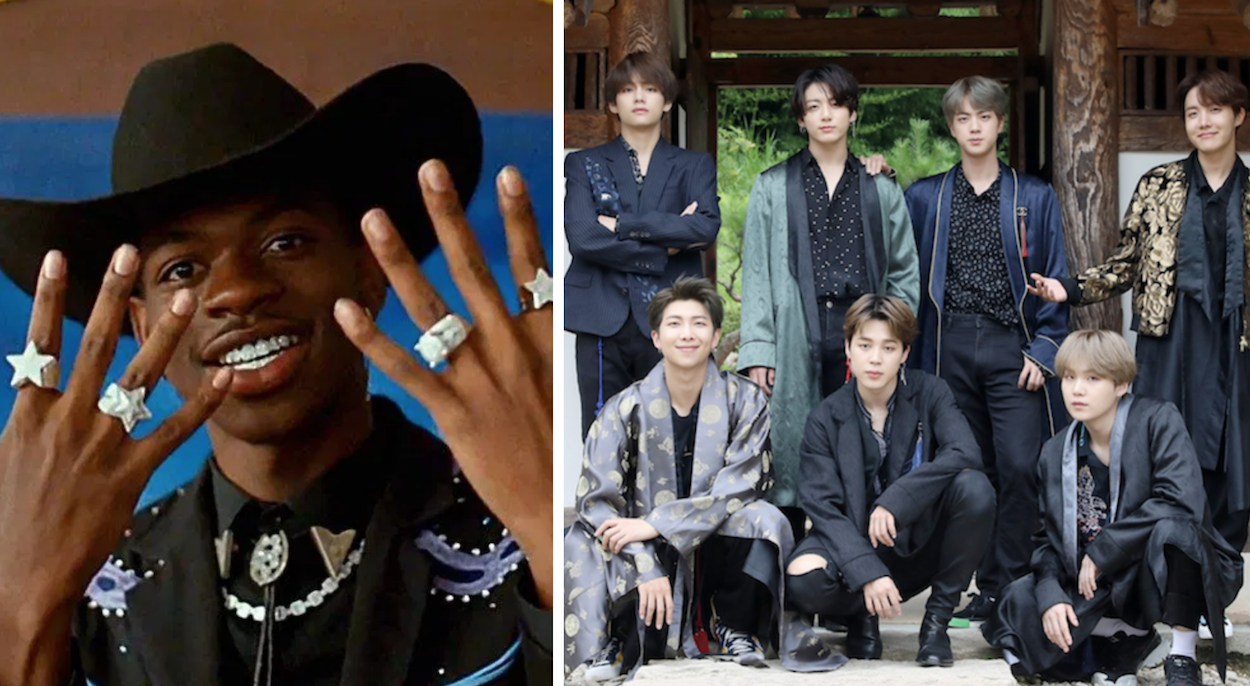 bts and lil nas x to perform together at 2020 grammys consequence of sound bts and lil nas x to perform together