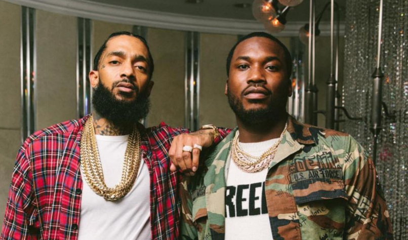 meek mill letter to nipsey hussle stream new song