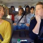 BTS Carpool Karaoke late late show james corden