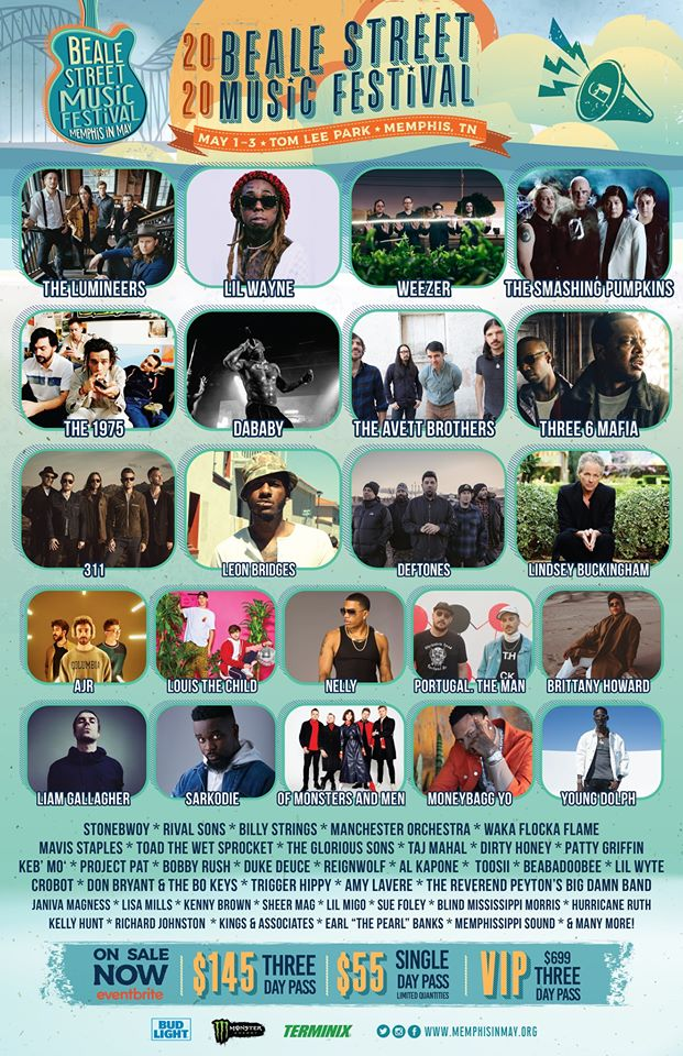 Beale Street 2020 lineup