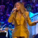 Beyonce Kobe Bryant Memorial Celebration performance xo halo
