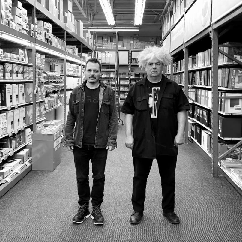 Buzz Osborne and Trevor Dunn, photo by Mackie Osborne