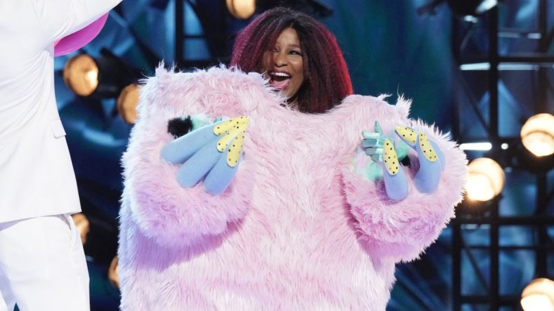 Chaka Khan masked singer music tv video on The Masked Singer (via Fox)