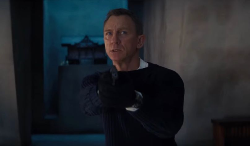 Daniel Craig in trailer for No Time to Die