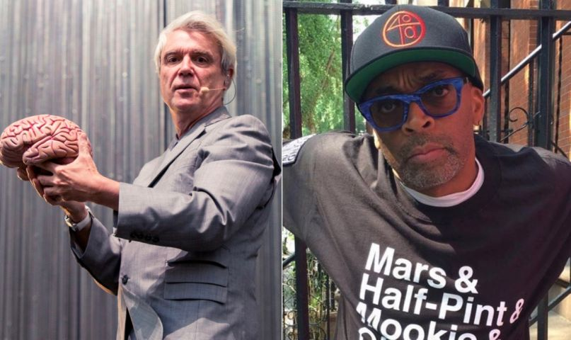 David Byrne and Spike Lee