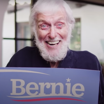 Dick Van Dyke Bernie Sanders commerical ad endorsement old vote