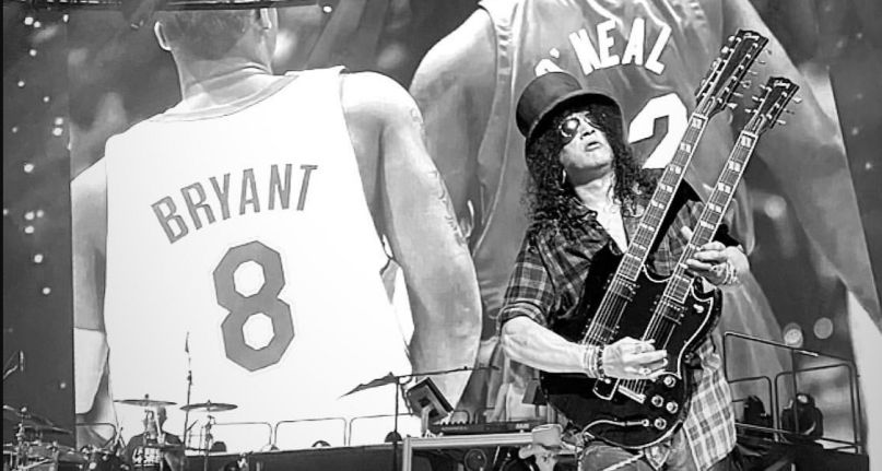Guns N Roses pay tribute to Kobe Bryant