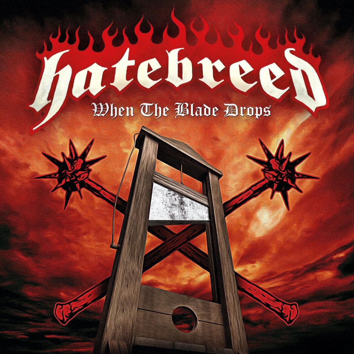 Hatebreed - When the Blade Drops single art