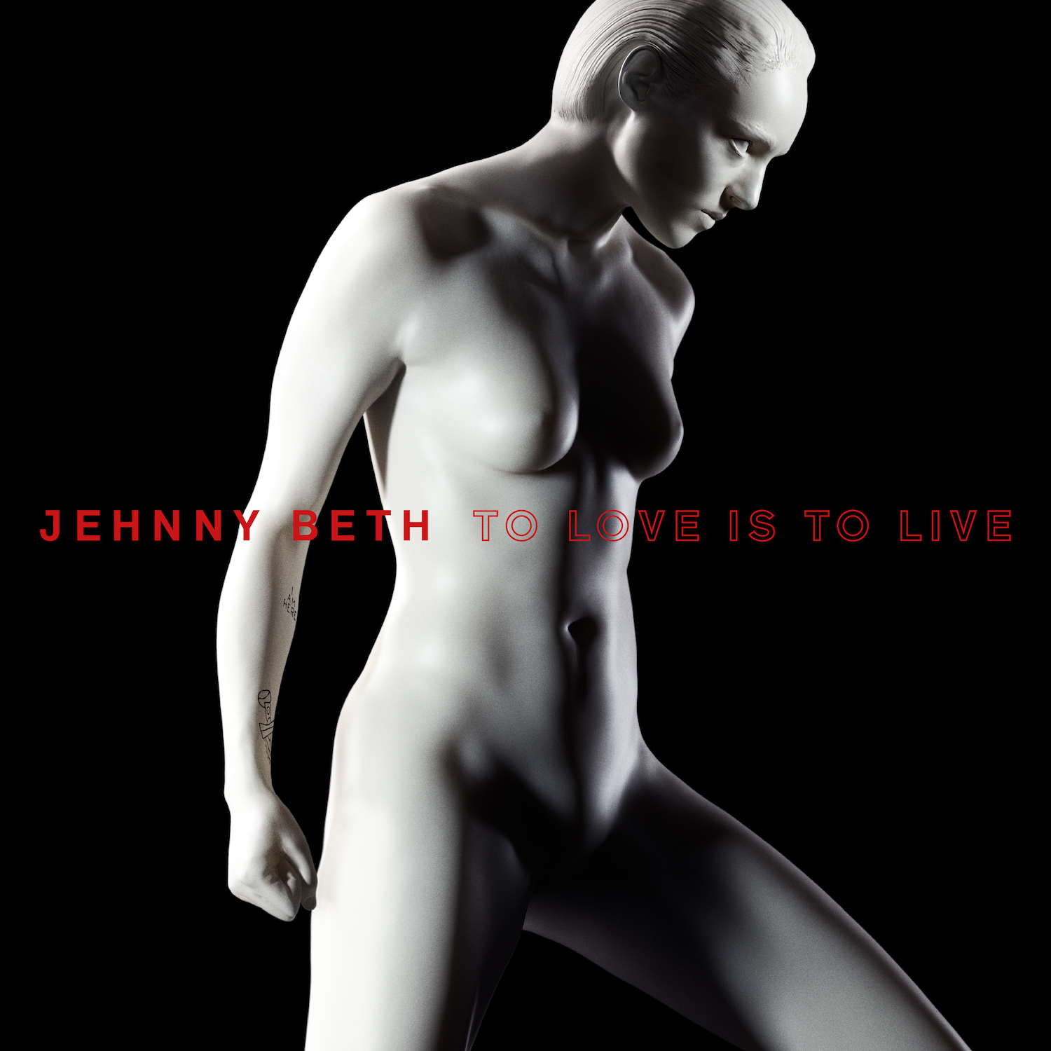 Jehnny Beth Savages solo album to love is to live cover artwork