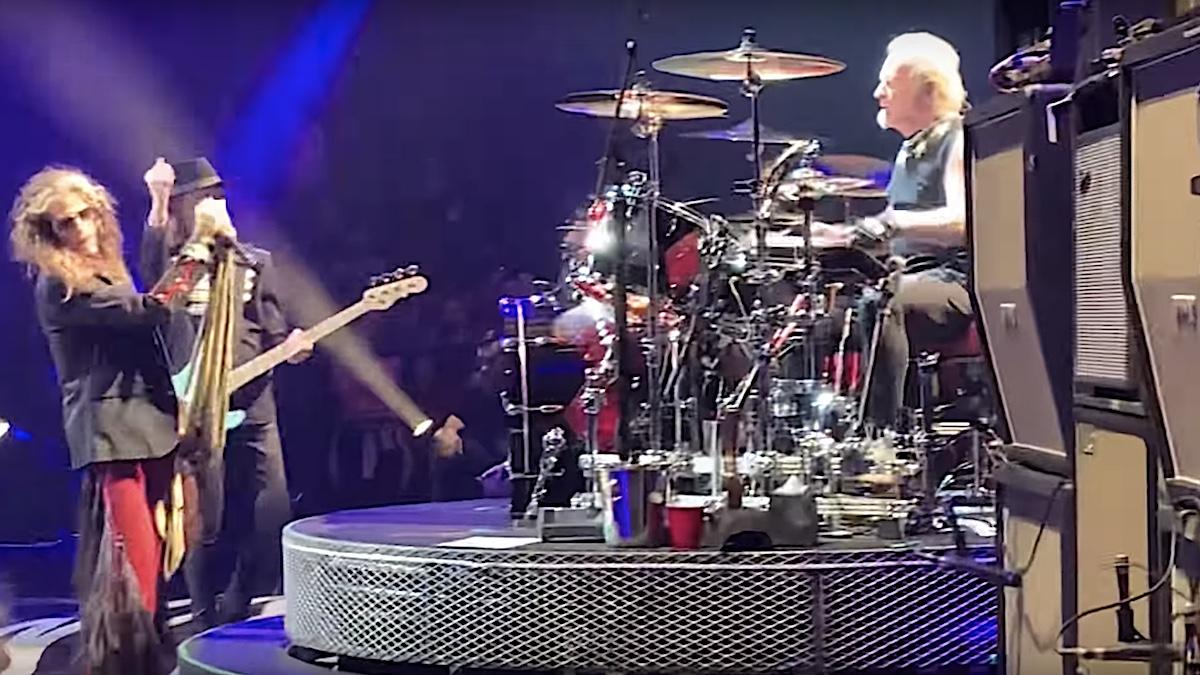 Joey Kramer rejoins Aerosmith, performs with band at Vegas residency: Watch