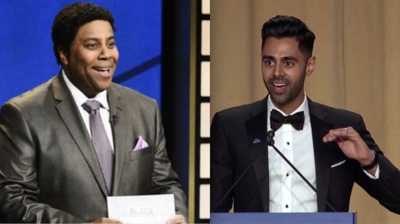 White House Correspondents' Dinner comedy standup Kenan Thompson and Hasan Minaj