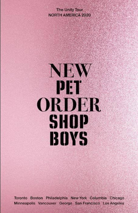 New Order Pet Shop Boys tour