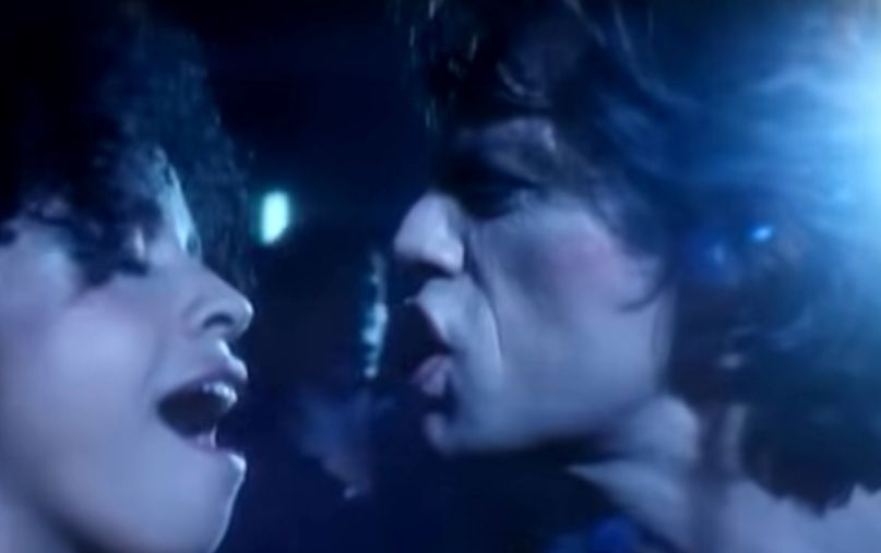 "Rae Dawn Chong in Mick Jagger's video for ""Just Another Night"""
