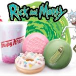 Rick and Morty donuts pickle Krispy Kreme, via Adult Swim