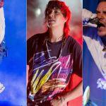 Kendrick Lamar (David Brendan Hall), The Strokes (Debi Del Grande), and Faith No More (Wiki Commons)
