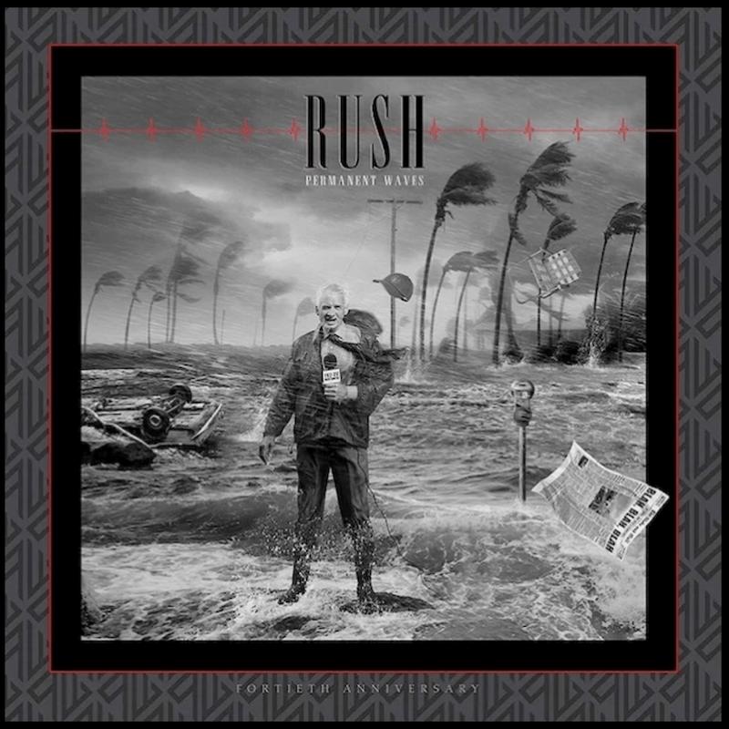 Rush Permanent Wave 40th Anniversary Artwork