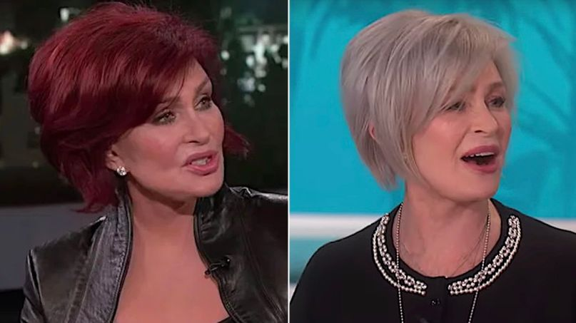 Sharon Osbourne debuts new hairdo