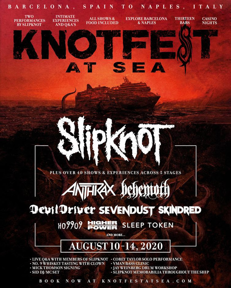 Slipknot at Sea poster