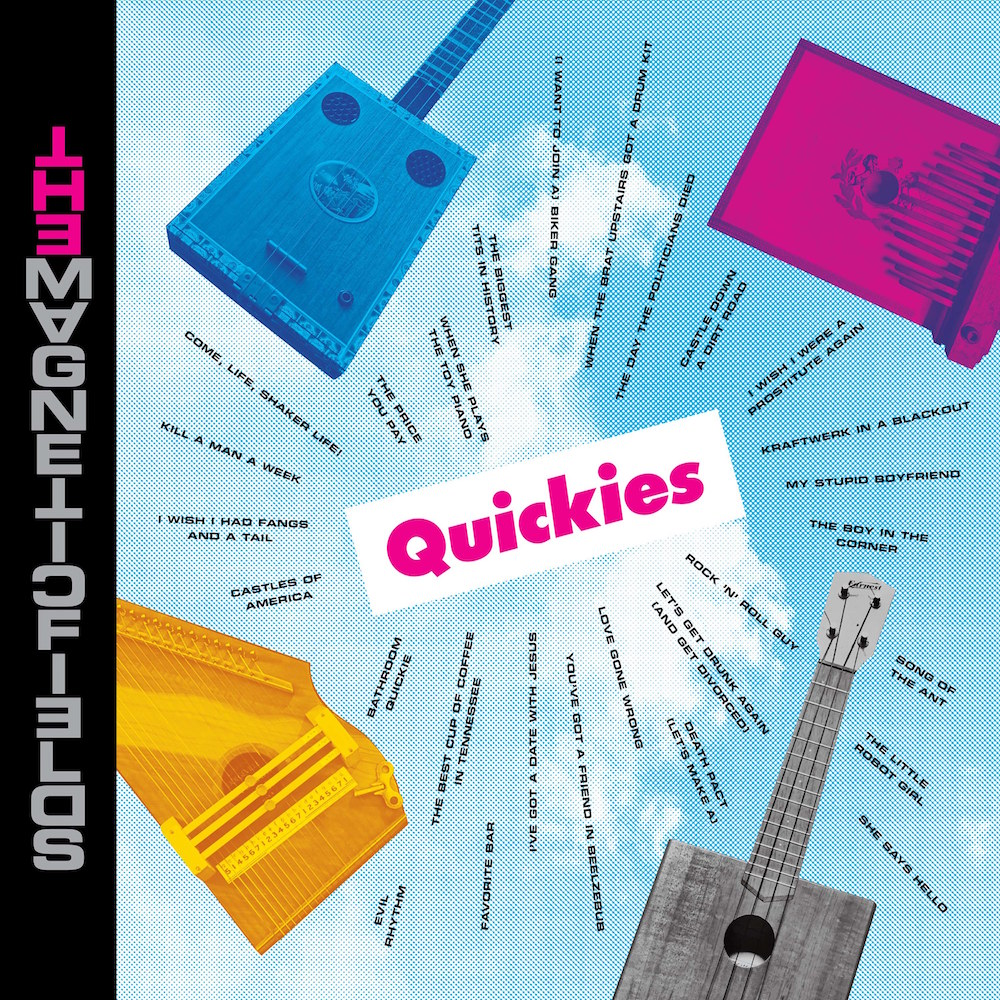 The Magnetic Fields QUICKIES album cover artwork The Magnetic Fields Announce New Album Quickies, Set Intimate US Tour