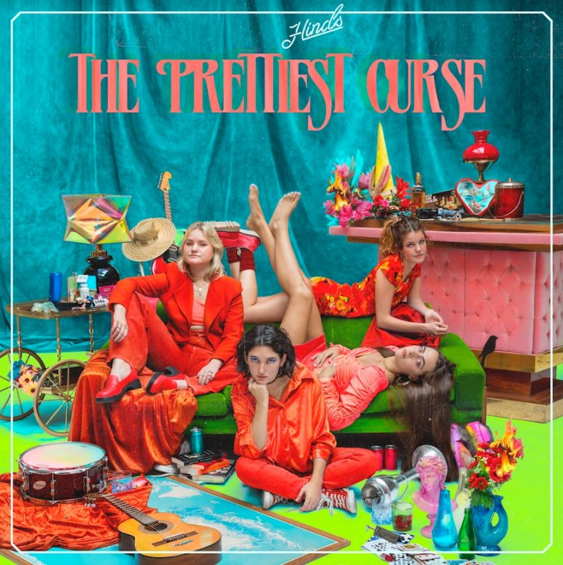 The Prettiest Curse by Hinds artwork