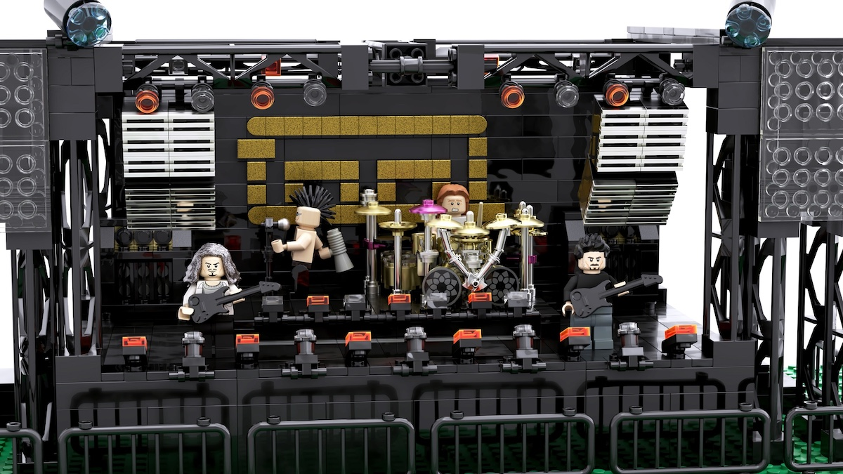 Tool LEGO Stage Setup