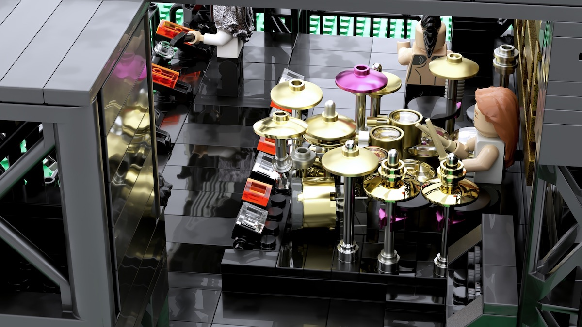 Tool LEGO drums