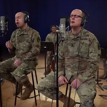 """US Army Band """"Pershing's Own"""" performs Rush's """"Time Stand Still"""""""