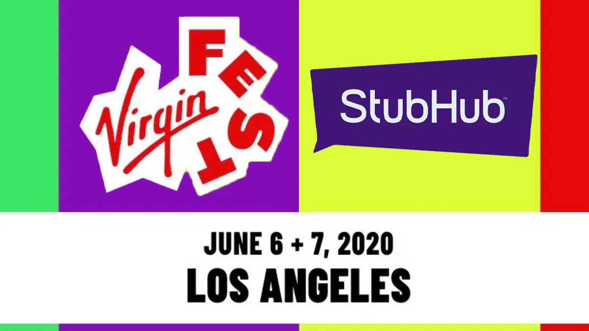 Virgin Fest taps StubHub as exclusive verified ticket marketplace