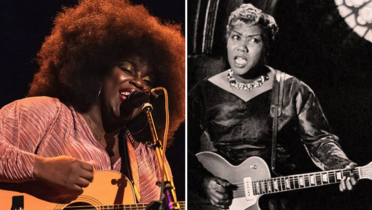 Yola cast as Sister Rosetta Tharpe in Baz Luhrmann's Elvis biopic