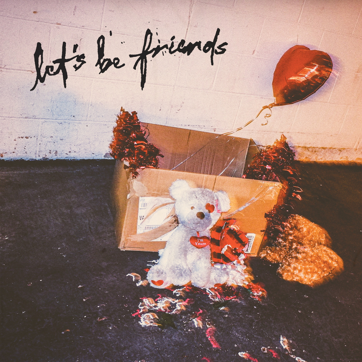 carly rae jepsen let's be friends single artwork