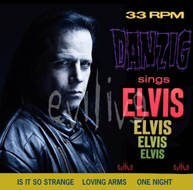 danzig sings elvis album artwork Danzig Details New Elvis Covers Album, Teases Tour Dates