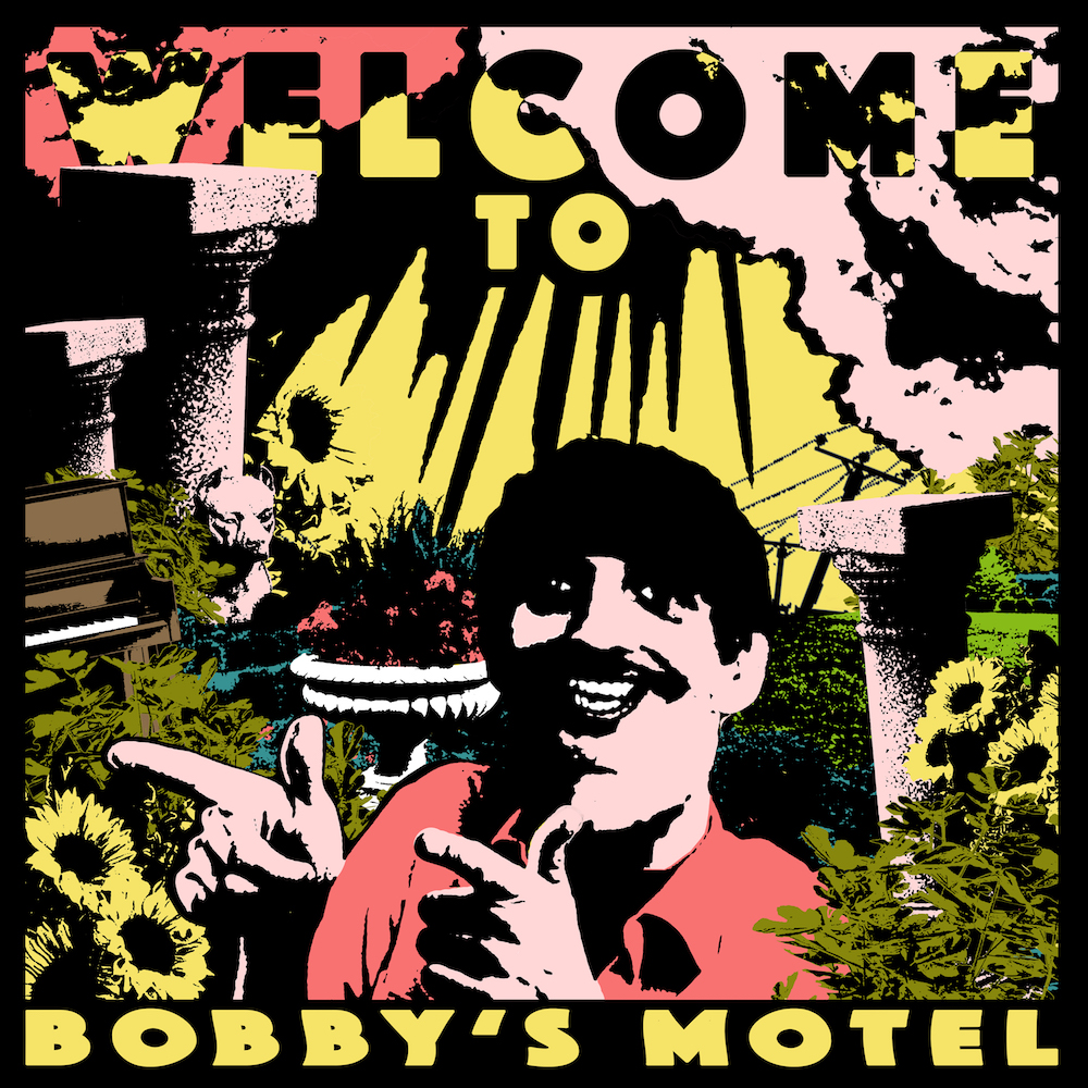 pottery welcome bobbys motel album cover art Pottery announce debut album Welcome to Bobbys Motel, map out world tour