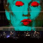 """Anti-Trump visuals as shown during Roger Waters' """"Us + Them Tour"""""""
