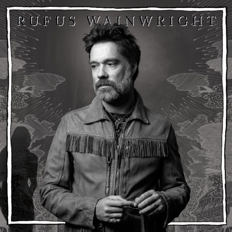 Unfollow the Rules by Rufus Wainwright cover artwork