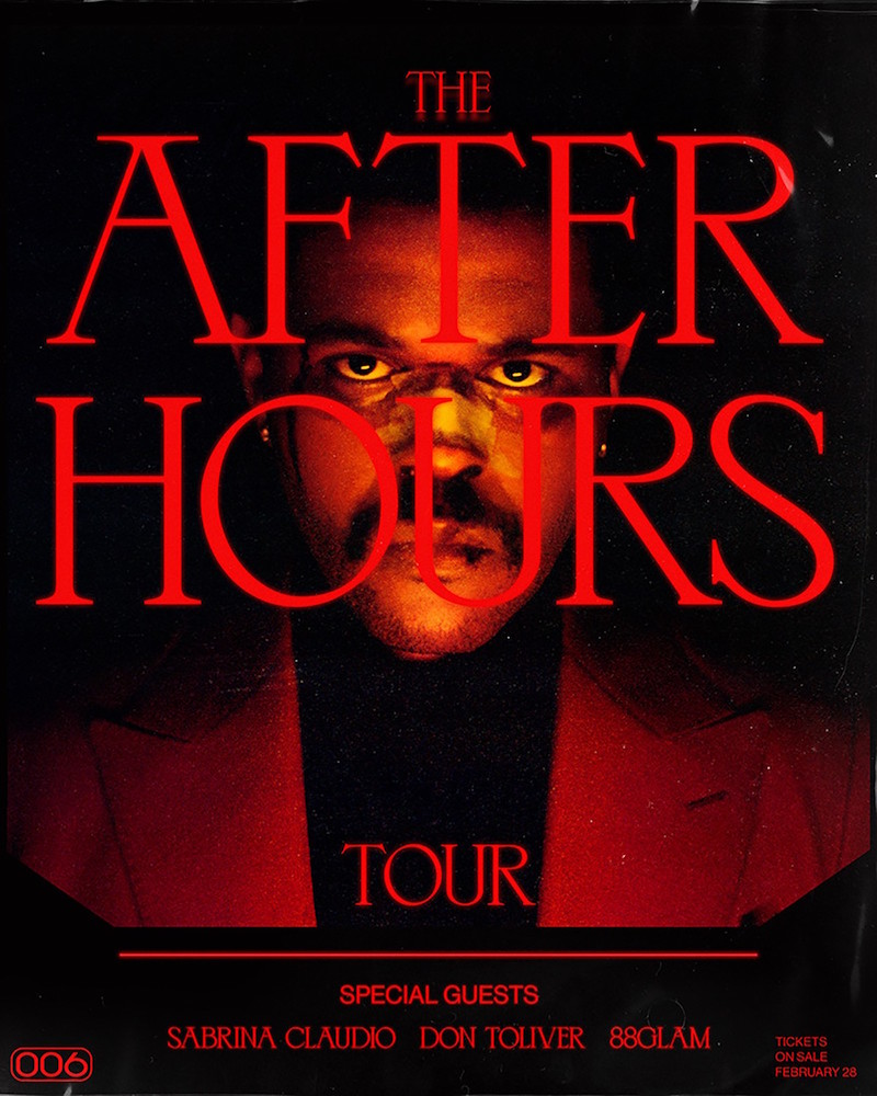 the weeknd after hours tour The Weeknd Announces Arena Tour