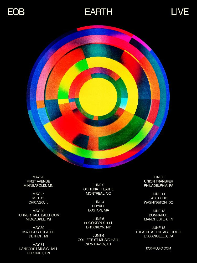 Ed O'Brien 2020 Tour Dates