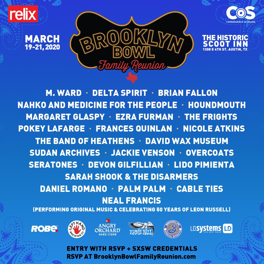 Brooklyn Bowl Family Reunion 2020