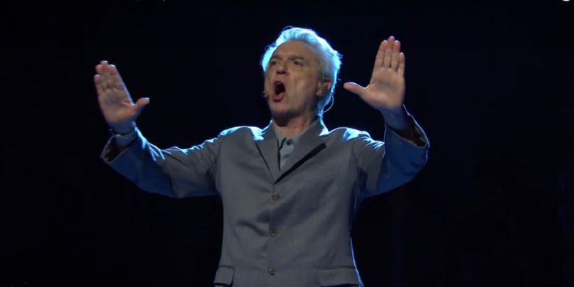 David Byrne on SNL