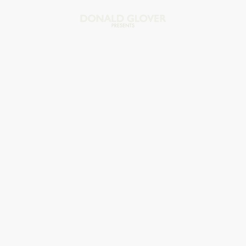 Donald Glover's artwork for 3.15.20