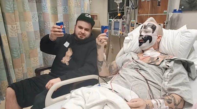 ICP's Shaggy in the hospital