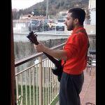 Italian Metal Guitarist Raining Blood