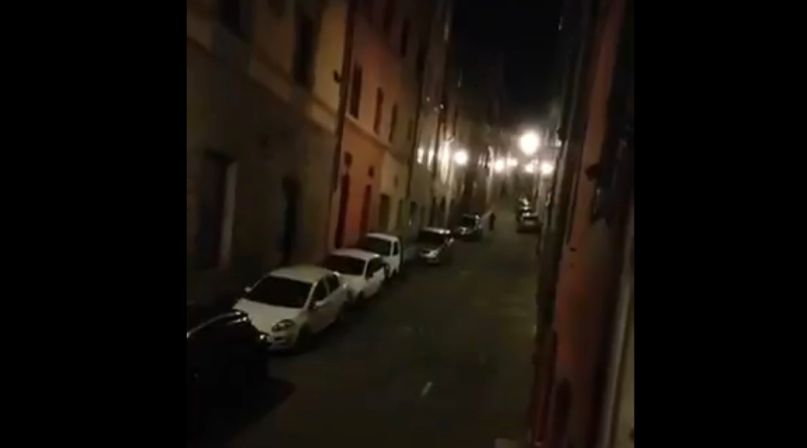 Italians Quarantine Sing Song Viral Video Siena