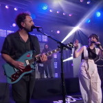 Local Natives When Am I Gonna Lose You Dark Days Amelia Meath Jimmy Kimmel live Watch