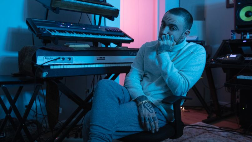 Mac Miller Circles deluxe edition new album right floating, photo by Christian Weber