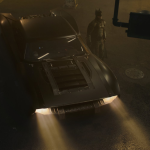 Matt Reeves The Batman Batsuit Batmobile costume car