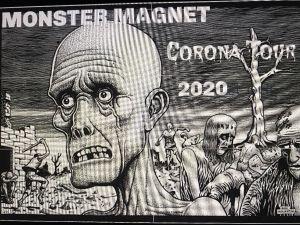Monster Magnet Coronavirus artwork