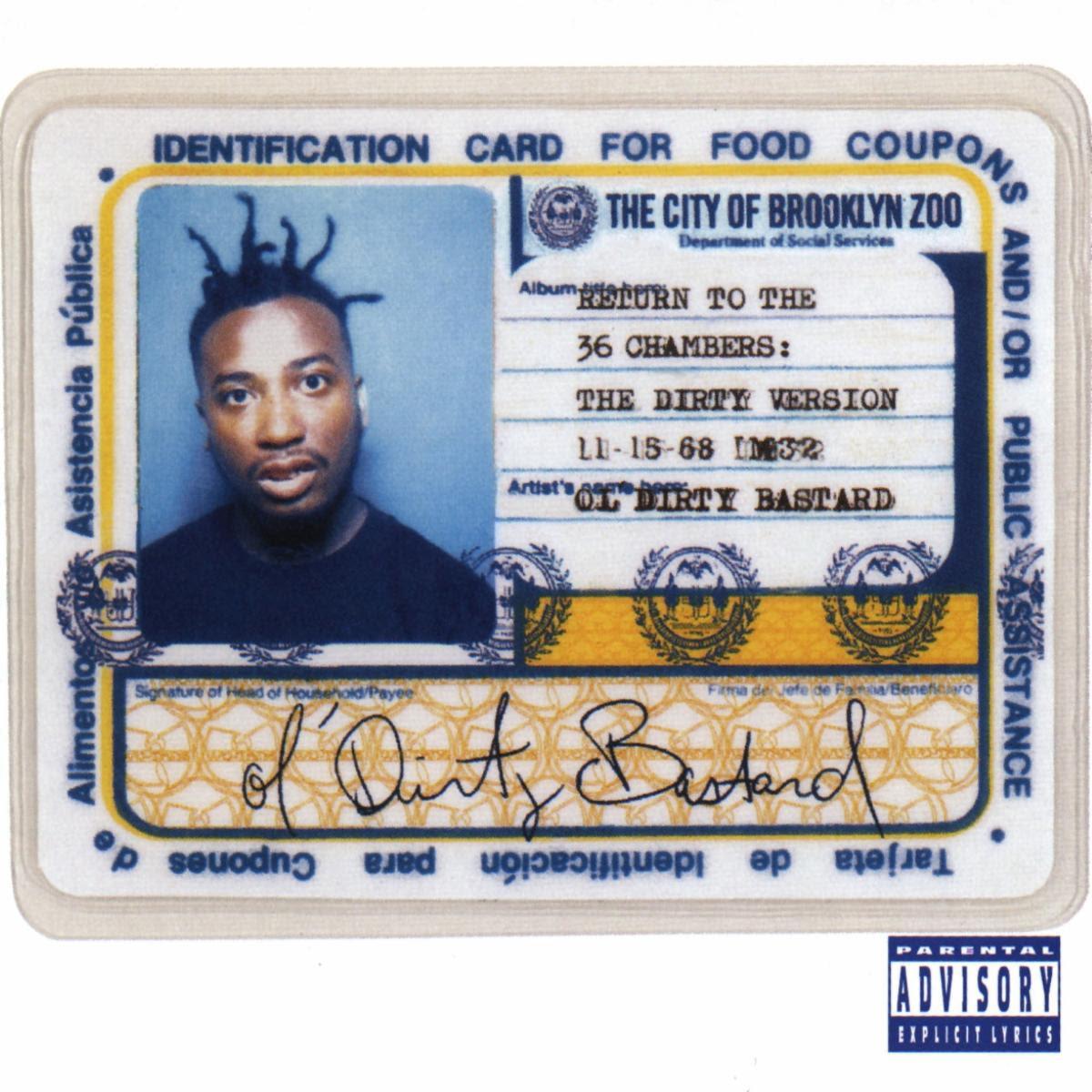 Ol' Dirty Bastard 25th Anniversary Deluxe Artwork