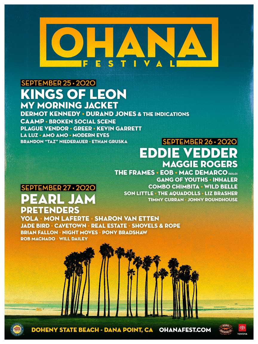Ohana Festival 2020 lineup