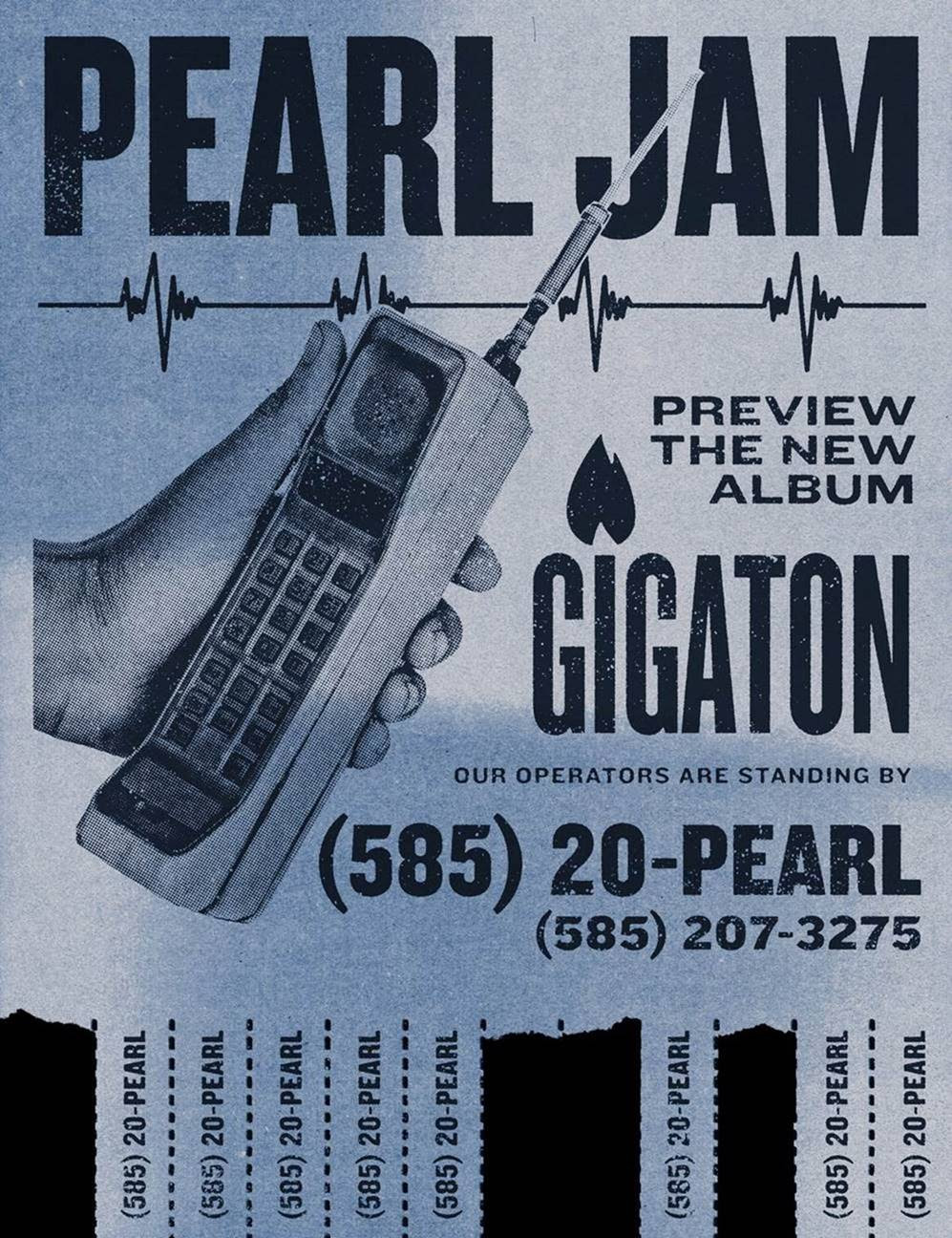 Pearl Jam Gigaton Hotline